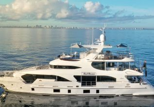Cool Breeze Charter Yacht at Miami Yacht Show 2020