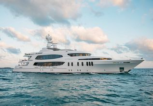 Skyfall Charter Yacht at Fort Lauderdale Boat Show 2015