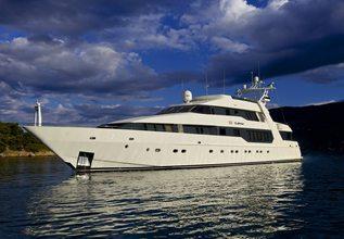 Davina Charter Yacht at Mediterranean Yacht Show 2017