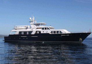 Casual Water Charter Yacht at Fort Lauderdale Boat Show 2014