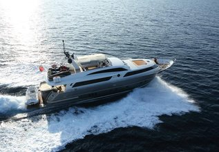 O Noso Uno Charter Yacht at Cannes Yachting Festival 2015