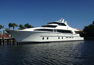 Happiness Charter Yacht at Fort Lauderdale Boat Show 2017
