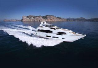 SUNSEEKER 95 YACHT Charter Yacht at Miami Yacht Show 2019