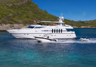 Marbella Charter Yacht at Antigua Charter Yacht Show 2014