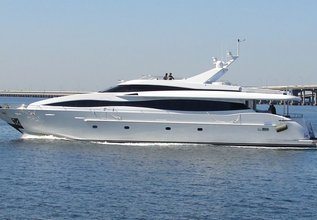 Prestige Lady Charter Yacht at Fort Lauderdale Boat Show 2014