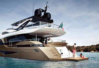 Zalanka Charter Yacht at Monaco Yacht Show 2018