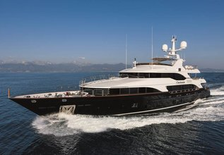 Checkmate Charter Yacht at Palm Beach Boat Show 2017