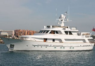 Adytum Charter Yacht at Fort Lauderdale Boat Show 2015