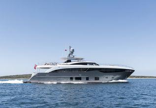 Antheya III Charter Yacht at Monaco Yacht Show 2015