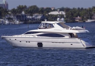 Crystal Parrot Charter Yacht at Fort Lauderdale Boat Show 2015