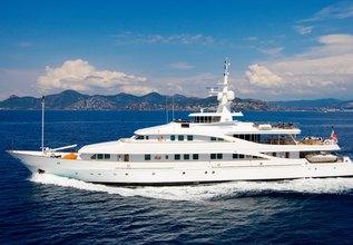 Lou Spirit Charter Yacht at Mediterranean Yacht Show 2016