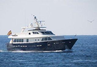 Amali Charter Yacht at Palma Superyacht Show 2015