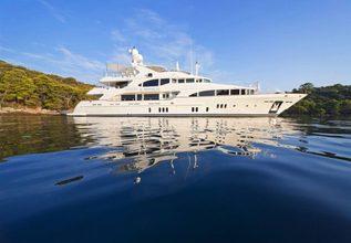 Harmony III Charter Yacht at Monaco Grand Prix 2014