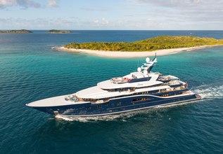 Solandge Charter Yacht at Monaco Grand Prix Yacht Charter