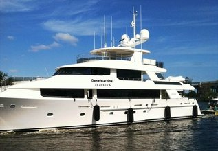Lady Pegasus Charter Yacht at Fort Lauderdale Boat Show 2015