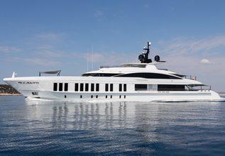 Samurai Charter Yacht at Monaco Yacht Show 2019