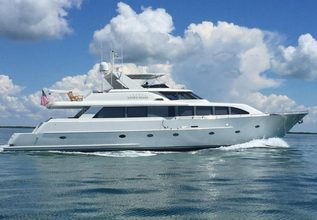Betsy Charter Yacht at Fort Lauderdale Boat Show 2017