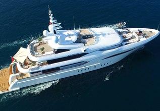 Dusur Charter Yacht at Monaco Yacht Show 2015
