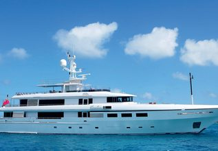 Emelina Charter Yacht at Fort Lauderdale Boat Show 2015