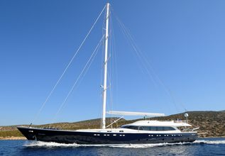 Gulmaria Charter Yacht at East Med Yacht Show 2014