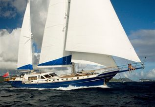 Queen South III Charter Yacht at Antigua Charter Show 2013