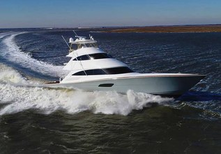 Maverick Charter Yacht at Palm Beach Boat Show 2019
