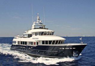 Beothuk Charter Yacht at Palm Beach Boat Show 2016