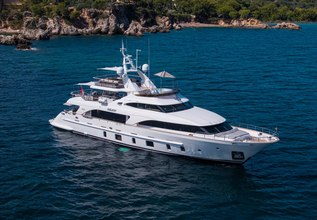 Orso 3 Charter Yacht at MYBA Charter Show 2019