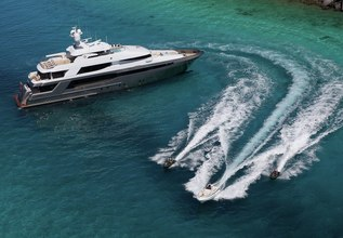 Muchos Mas Charter Yacht at Cannes Yachting Festival 2018