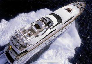 Astondoa 95 2004 Charter Yacht at Palma Superyacht Show 2019