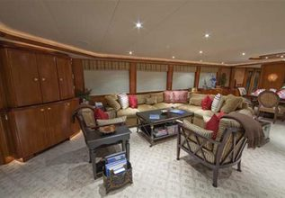 Sojourn Charter Yacht at Fort Lauderdale Boat Show 2015
