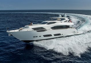 Hideout Charter Yacht at Miami Yacht Show 2018
