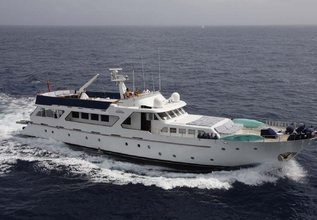 Lady Roxanne Charter Yacht at MIPIM 2014