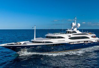Andiamo Charter Yacht at The Superyacht Show 2018