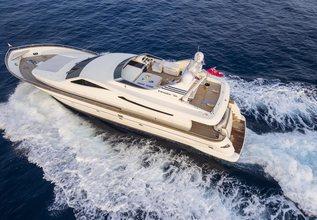 Gorgeous Charter Yacht at Mediterranean Yacht Show 2017