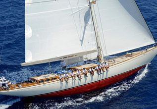 Drumfire Charter Yacht at Palma Superyacht Show 2014