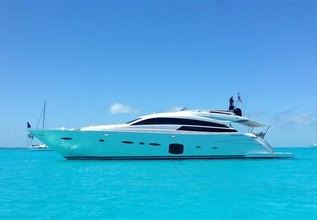 Coal Blooded Charter Yacht at Miami Yacht Show 2020