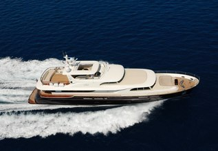 Cyrus One Charter Yacht at MYBA Charter Show 2015