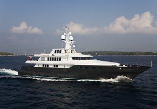Cyan Charter Yacht at Antigua Charter Yacht Show 2017