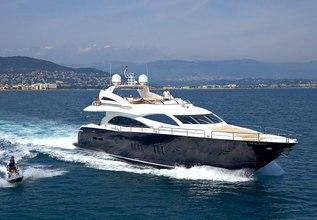 Yunona Charter Yacht at MYBA Charter Show 2013