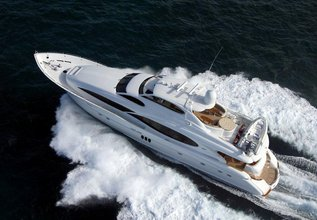 Passion Charter Yacht at Fort Lauderdale Boat Show 2014