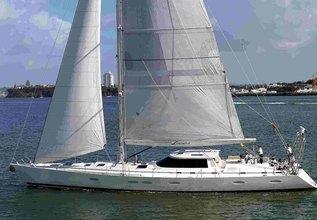 Locura Charter Yacht at Antigua Sailing Week 2013