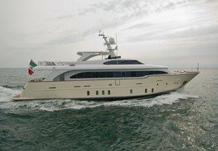 Maca Charter Yacht at Palma Superyacht Show 2014