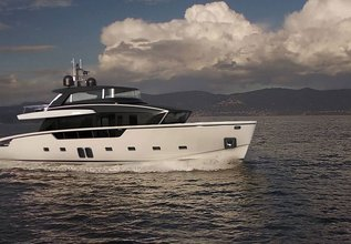 Infinity Charter Yacht at Fort Lauderdale Boat Show 2019 (FLIBS)