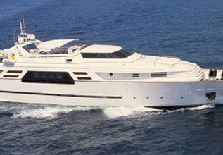 Gaudeamus Charter Yacht at Palm Beach Boat Show 2014
