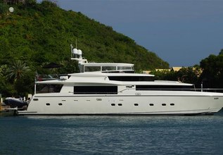 Maren Di Ponza II Charter Yacht at Fort Lauderdale Boat Show 2015