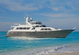 Trilogy Charter Yacht at Fort Lauderdale Boat Show 2015