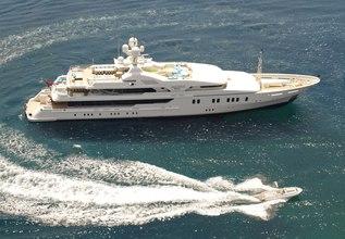 Maria Charter Yacht at Monaco Yacht Show 2015