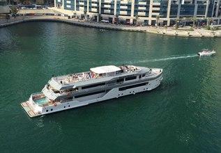 Desert Rose I Charter Yacht at Abu Dhabi Grand Prix 2017
