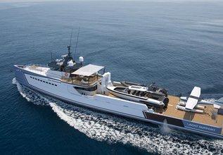 Shadow Charter Yacht at Monaco Yacht Show 2017